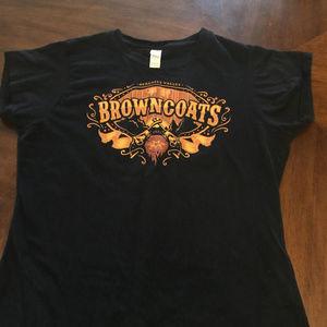Tops - Firefly Serenity Valley Browncoats Medium T-Shirt